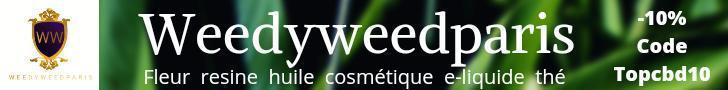 Visiter la boutique de CBD Weedyweedparis